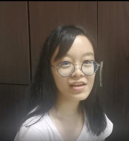 Jolene, O-level student, Juying Sec School